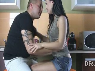 nice white scene, quality young, sucking