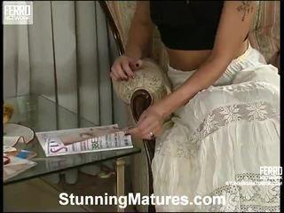 Bridget, connor, esther starring en caliente mezclar clips de impactante madura