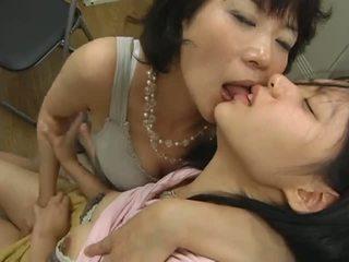 japonski, lezbijke, hlačke