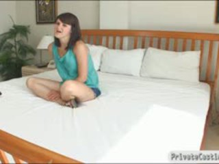Pretty Teen Fucked And Jizzed On Booty While Being Filmed