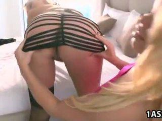 Blonde Abbey Brooks and Nikki Delano