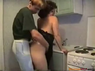 Mom Fucked In Her Kitchen