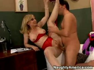 Nina hartley acquires her cookie filled with juvenile künti