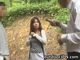 アマチュア glamorous アジアの ベイブ 掘削 アウトドア