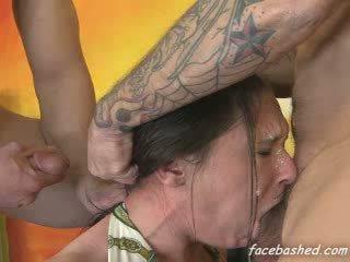 Brutal deepthroat