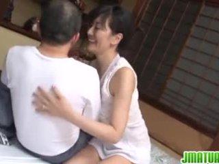 Dojrzała chic w japońskie has seks