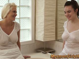 Tắm mormon truyền giáo, miễn phí mormons khiêu dâm 73