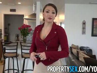 Propertysex - μεγάλος κώλος λατίνα πραγματικός estate agent εξαπατημένος σε ερασιτεχνικό σεξ βίντεο