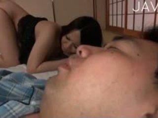 일본의, 큰 가슴, titjob