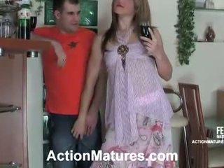 Martha and Monty sensuous mom inside activity