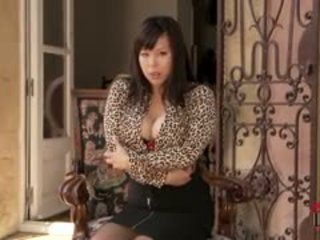big boobs, stockings, asian