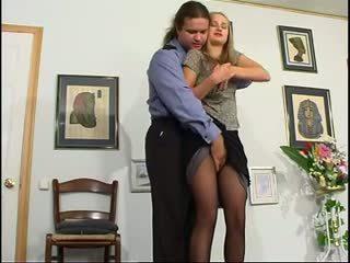 blondiner, anal, ryska
