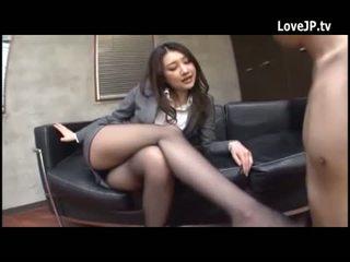 Japonesa agradable piernas 224746