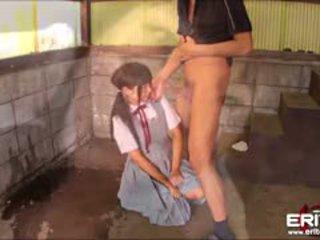 熱 squirting 女學生 gets probed