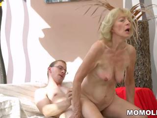 Het grannyen creampied: fria lusty grandmas högupplöst porr video- b8
