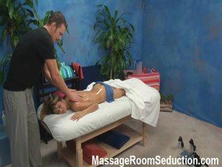 Veronica lured ja shaged poolt tema massaaž therapist onto peidetud camera