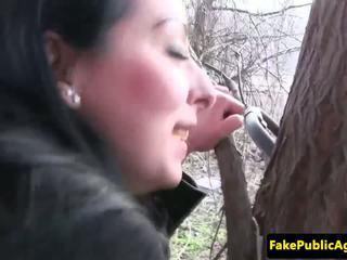 تشيكي فتاة cumswallows fake agents spunk, الاباحية 77
