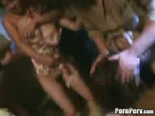 Two মেয়েরা brutally gangbanged ভিডিও