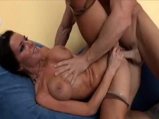 Hot MILF getting fucked until wet orgasm