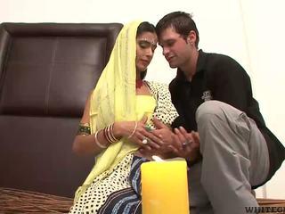 Pen sex med veldig vakker indisk