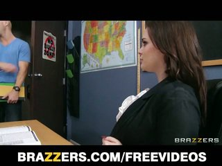 Брюнетка учител tessa lane хардкор секс на маса