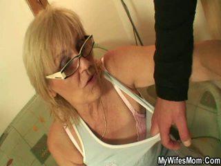 Zeer oud grannys getting geneukt op video-