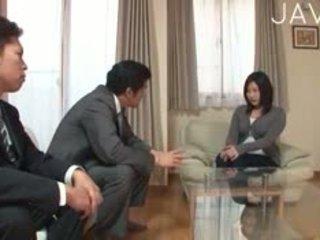 japonijos, žmonos apgautas vyras, blowjob