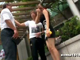 Korea1818.com - vroče korejsko punca rejects japonsko man!