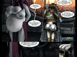 תלת ממדים קומיקס: galacticus. chapters 8-12