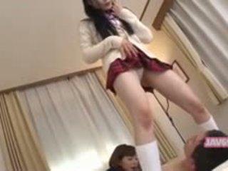 Piękne seductive koreańskie dziewczyna pieprzenie