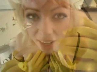Adrianna nicole in yellow rezin ellik - porno video 841