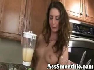 Taylor Mae Drinks A Hole Smoothie
