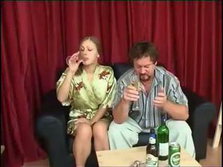 пиене, дъщеря, чука