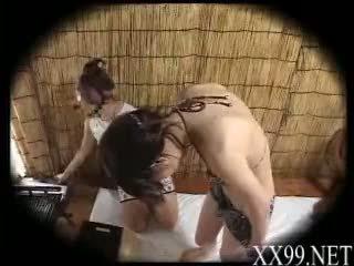 babes, massage, asiatique