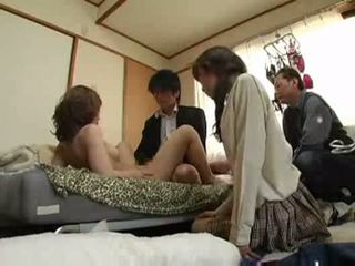 groupsex, japon, pussyfucking