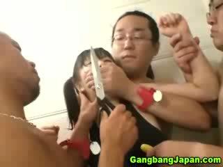 Ázijské pobehlica skupina grope orgia