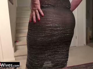 Usawives maduros senhora jade solo masturbation: grátis porno f9