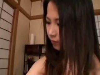 日本の, 巨乳, 手コキ