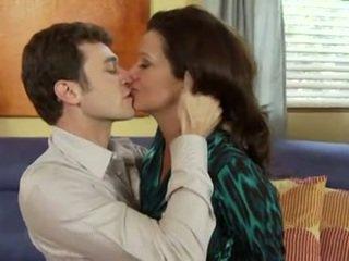 brunette sex, oral sex porno, quality kissing scene