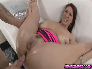 Pretty babe Tiffany Mynx sucking that massive hard cock