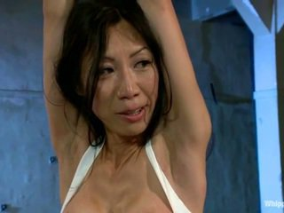 Busty Asian Tia Ling Has Abused By Mai...