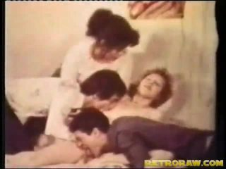 Bi seksual seks dengan empat orangan