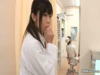 brunette, japanse, uniform