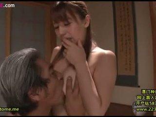 brunett, oralsex, japansk