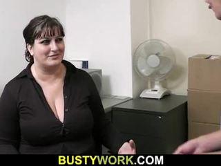 좋은 엉덩이, 토실 토실 살찐, 큰 가슴