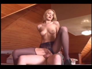 Beautiful Blonde Rides an Old Man, Free Porn 25