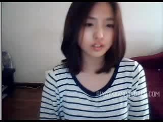 可愛 青少年 亞洲人 攝像頭