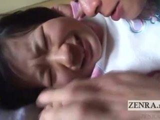 Ιαπωνία κορίτσι του σχολείου licked όλα πέρα english subtitles