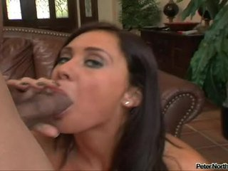 SexuAlly Lascivious Honey Jessica Valentino Fits A Ma Holeive Erect Cock In Her Slippery Mouth