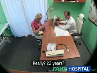 Fakehospital slank babe wants seks met dokter